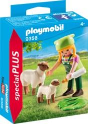 140-9356 Bäuerin mit Schäfchen Playmobi