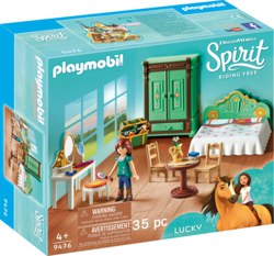 140-9476 Luckys Schlafzimmer Playmobil