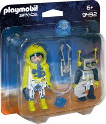 140-9492 Duo Pack Astronaut und Roboter