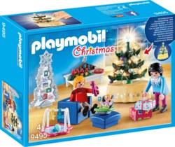 140-9495 Weihnachtliches Wohnzimmer