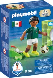 140-9515 Nationalspieler Mexiko Playmob
