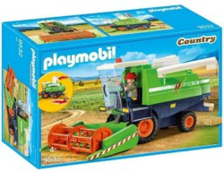 140-9532 Mähdrescher Playmobil Country