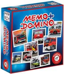 143-6596 Memo + Domino Feuerwehr Piatni