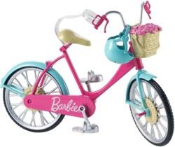 145-DVX550 Barbie Fahrrad Mattel Puppenzu