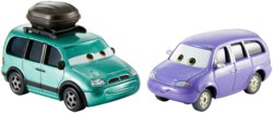 145-DXW060 Disney Cars 3 Die-Cast Minny &