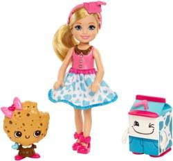 145-FDJ110 Barbie Chelsea, Milch- und Kek