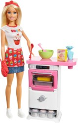 145-FHP570 Barbie Cooking & Baking Bäcker