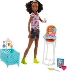 145-FHY990 Barbie Skipper Babysitter, sch