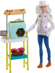 145-FRM170 Barbie Imkerin Puppe blond, Sp