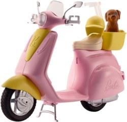 145-FRP560 Barbie Motorroller Mattel Pupp