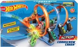 145-FTB650 Hot Wheels Korkenzieher-Crash