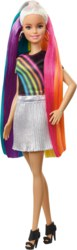 145-FXN960 Barbie Regenbogen-Glitzerhaar