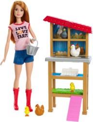 145-FXP150 Barbie Chicken Farmer Puppe un