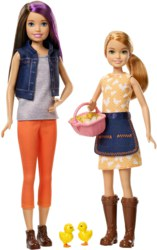 145-GCK850 Barbie Farm Skipper & Stacie M