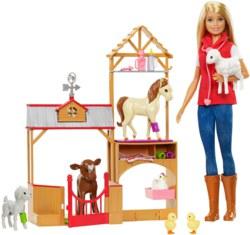 145-GCK860 Barbie Farm Tierärztin Spielse