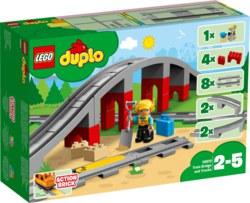 150-10872 Eisenbahnbrücke und Schienen L
