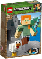 150-21149 Minecraft™-BigFig Alex mit Huh