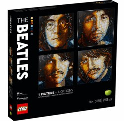150-31198 The Beatles LEGO® Art