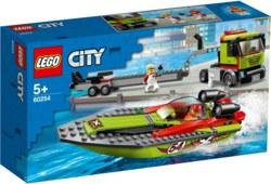 150-60254 Rennboot-Transporter LEGO® Cit