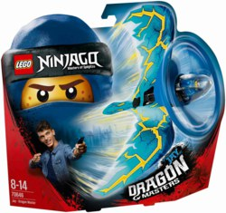 150-70646 Drachenmeister Jay LEGO Ninjag