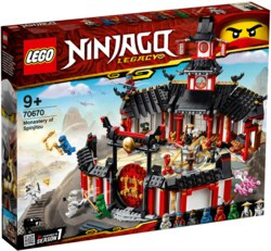 150-70670 Kloster des Spinjitzu LEGO® NI