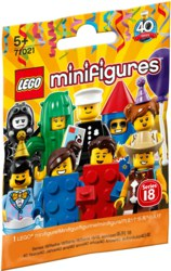 150-71021 Minifigures Serie 18: Party LE