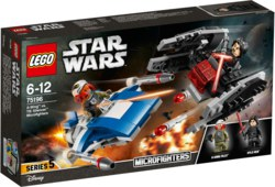 150-75196 A-Wing vs. TIE Silencer Microf