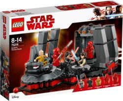 150-75216 Snokes Thronsaal LEGO Star War