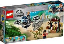 150-75934 Dilophosaurus auf der Flucht L