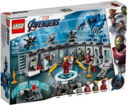 150-76125 Iron Mans Werkstatt LEGO® Marv