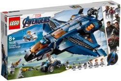 150-76126 Ultimativer Avengers-Quinjet L