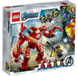 150-76164 Iron Man Hulkbuster vs. A.I.M.