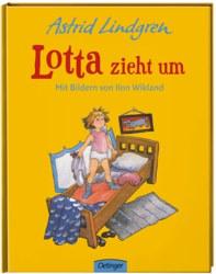 158-75589 Lotta zieht um Kinderbuch, Bil