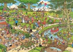 165-01492 Jan van Haasteren - Der Park J