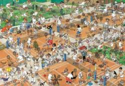 165-17076 Jan van Haasteren - Der Tennis