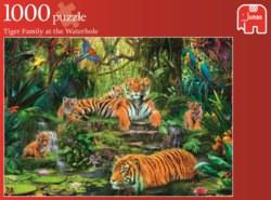 165-17245 Tigerfamilie Jumbo Spiele, 100