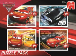 165-19615 Disney Cars 3 - 4in1 Puzzle Pa