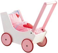 166-0950 Puppenwagen Herzen