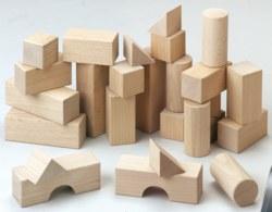 166-1071 Holz Basisbausteine Grundpacku