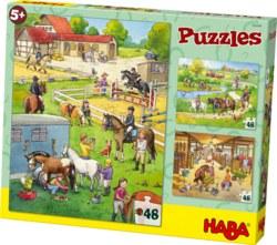 166-300494 Puzzles Pferdehof
