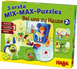 166-301649 3 erste Mix-Max-Puzzle-Zuhaus