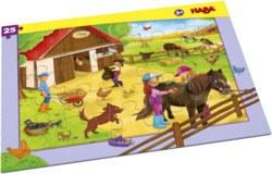 166-304654 Rahmenpuzzle Pferdehof