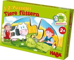 166-7467 1,2,Puzzelei - Tiere füttern