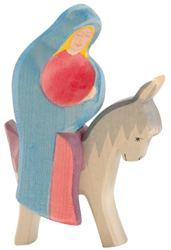 168-4038 Maria auf Esel Komplett Set 2