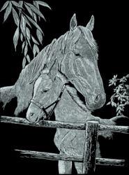 171-136003 Pferd mit Fohlen Mammut, ab 8