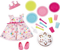 181-825242 BABY born Deluxe Party Set  Za
