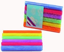 187-08510 Pastell-Knete 6 Rollen farbig