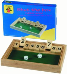 187-300409 Shut the Box 1 - 9 Longfield,
