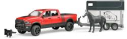 200-02501 RAM 2500 Power Wagon mit Pferd