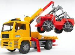 200-02750 MAN TGA Abschlepp-LKW mit Gelä